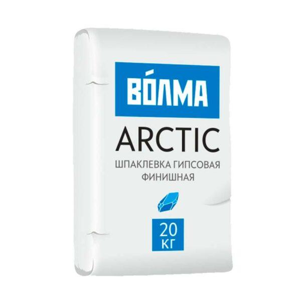 Шпатлёвка гипсовая финишная ВОЛМА Arctic