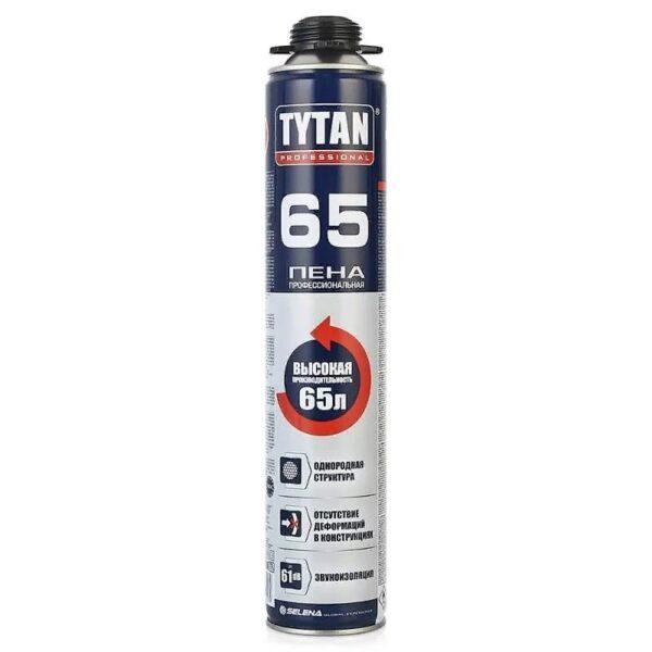 Монтажная пена TYTAN Professional 65л