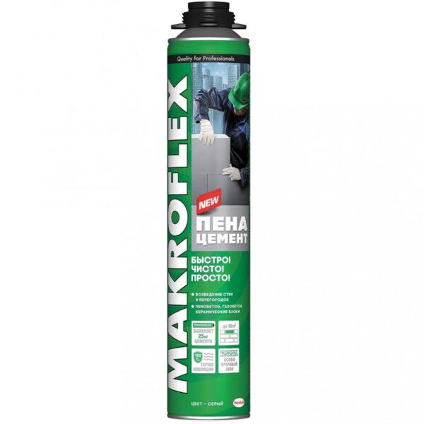 Клей-Пена монтажная MAKROFLEX Пено-Цемент Строительный