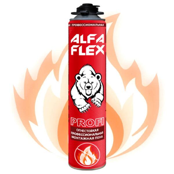 Alfa Flex PROFI пена монтажная огнестойкая